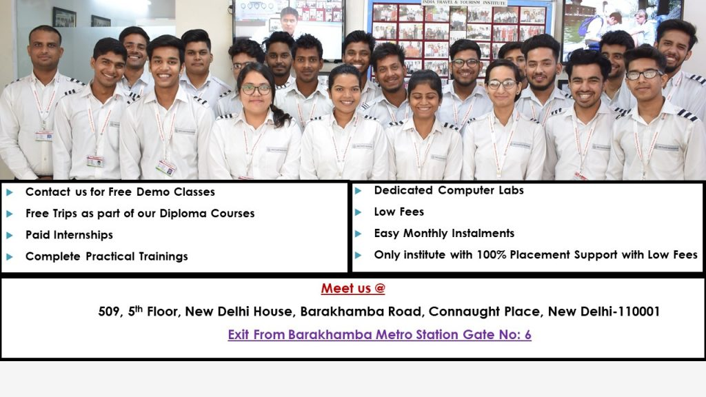 Travel-courses-job-placement-itti